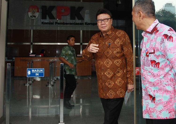 Kasus Suap Meikarta, Mendagri Sambangi KPK