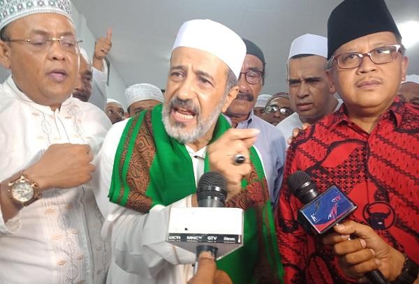 Habib di Bondowoso Tegaskan Tidak Haram Pilih PDI Perjuangan