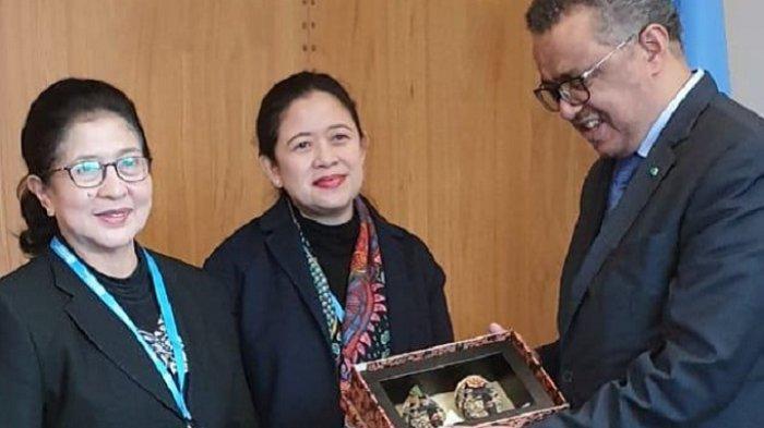 Puan Lakukan Pertemuan Bilateral dengan Petinggi WHO