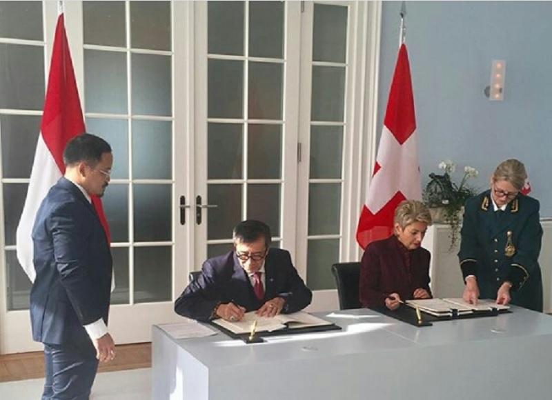 Image result for Pemerintah RI-Swiss Sepakati Perjanjian Bantuan Hukum Timbal Balik dalam Masalah Pidana