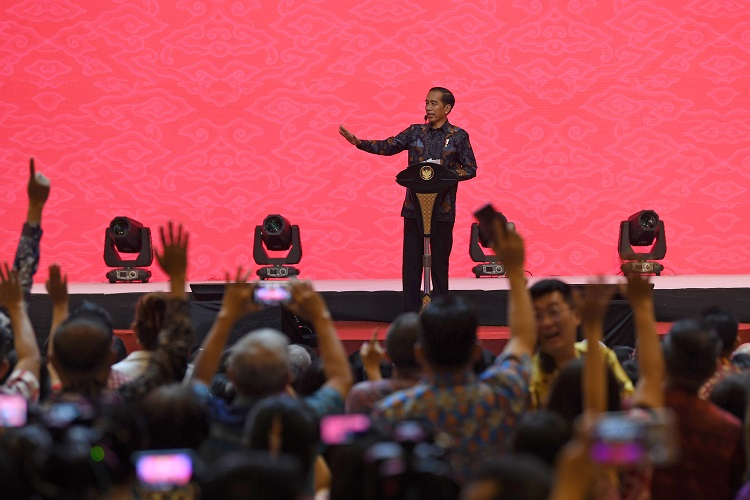 Presiden Syukuri Pertumbuhan Ekonomi 5,17 Persen