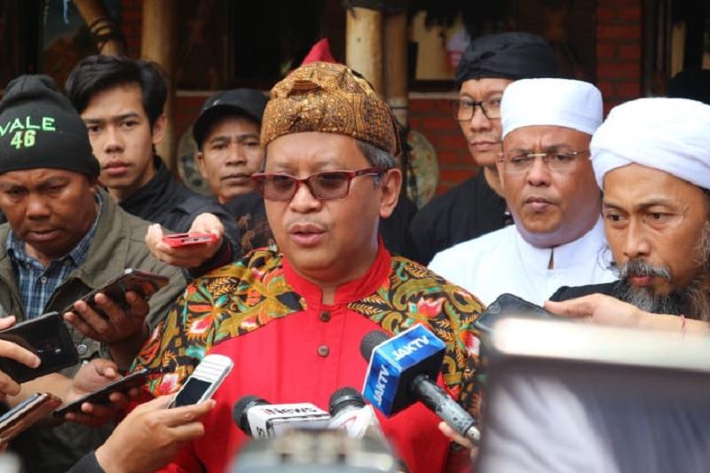 Hasto Optimistis Rebut Suara Jabar untuk Jokowi-Ma'ruf