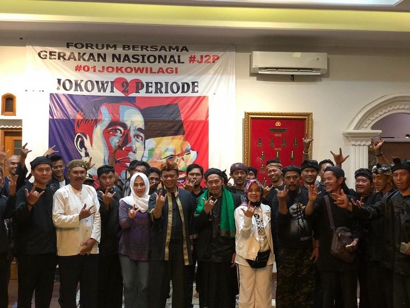 Masyarakat Adat Sunda Dukung Jokowi dan Abah Anton