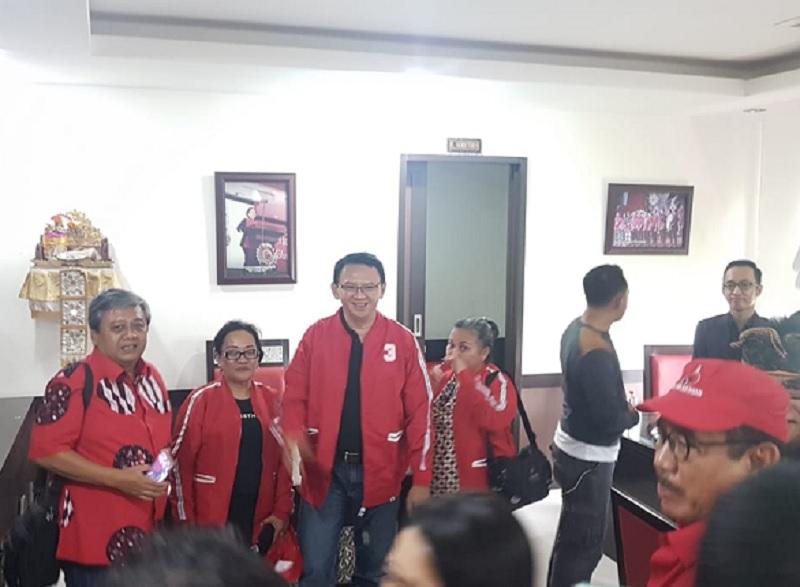 DPP PDI Perjuangan Benarkan Ahok Resmi Jadi Kader Banteng