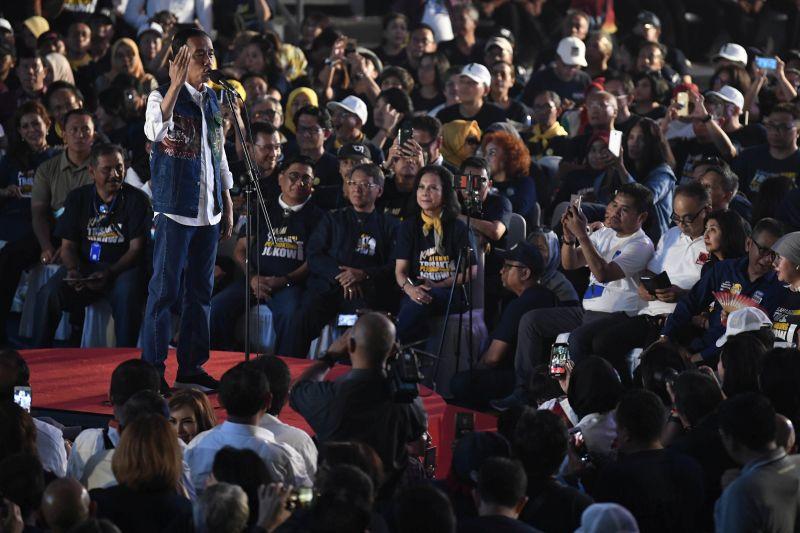 Jokowi: Jangan Pilih Pemimpin yang Coba-coba