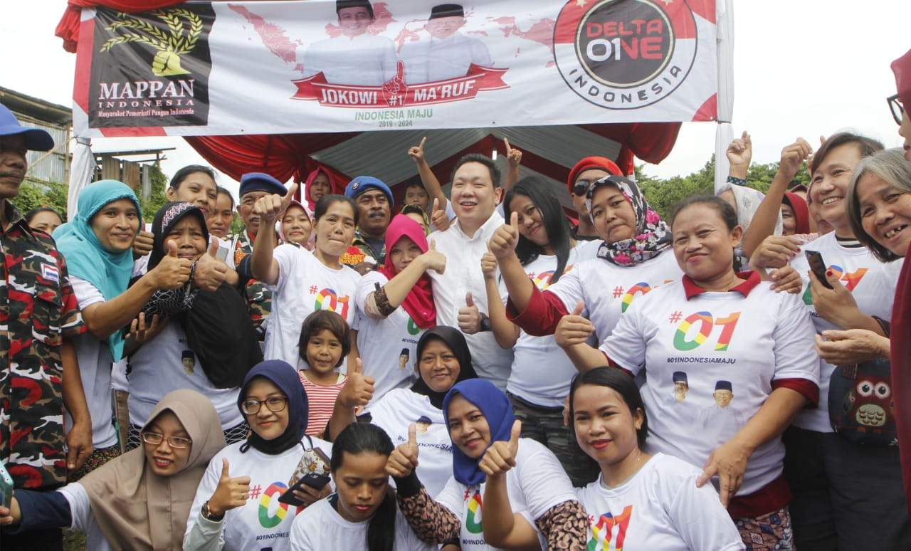 Charles Optimistis Jokowi-Kiai Ma'ruf Menang di Jakarta