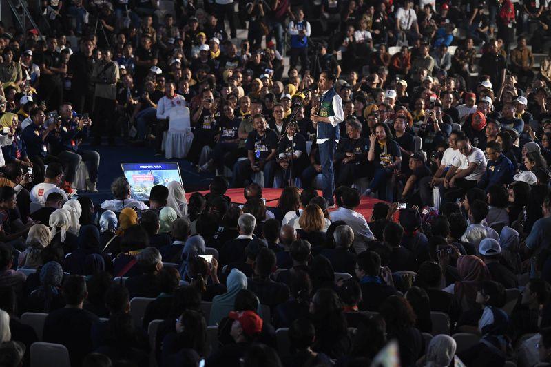 Soal Freeport, Jokowi: Untungnya Badan Saya Kurus