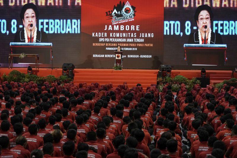 Megawati Minta Perempuan Lebih Aktif dalam Politik