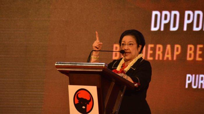 Megawati Minta Kader Partai Tak Menebar Kebencian