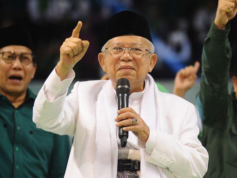 KH Ma'ruf Makin Optimistis Menangkan Pilpres 2019