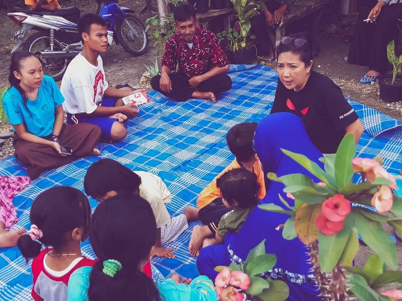 Sari Koeswoyo Kagum Kebhinnekaan di Kampung Kristen Kalitidu