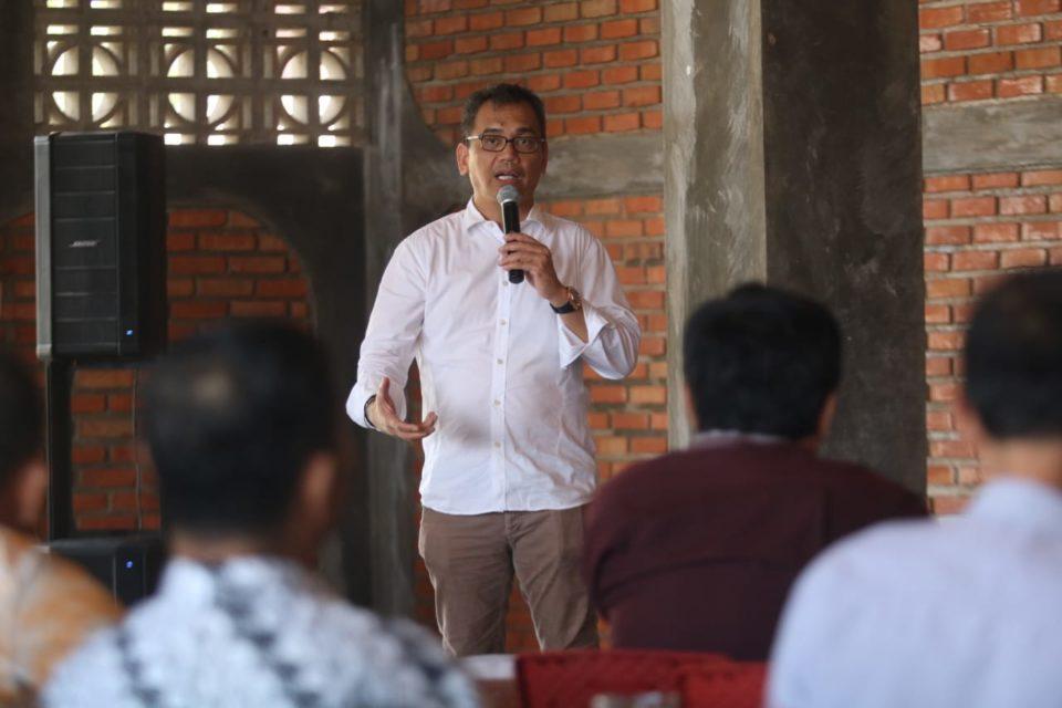 Sihar 'Tularkan' Ilmu Berwirausaha ke Warga Madina