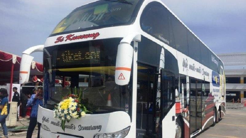 Hendi Resmikan Bus Wisata Gratis Si Kuncung