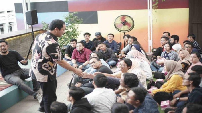 Hendi Minta Sesama Semarang Start Up Saling Support