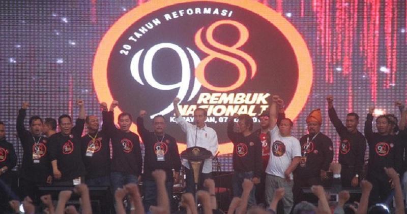 Aktivis 98 Protes Forum Diskusi Para Pendukung Prabowo