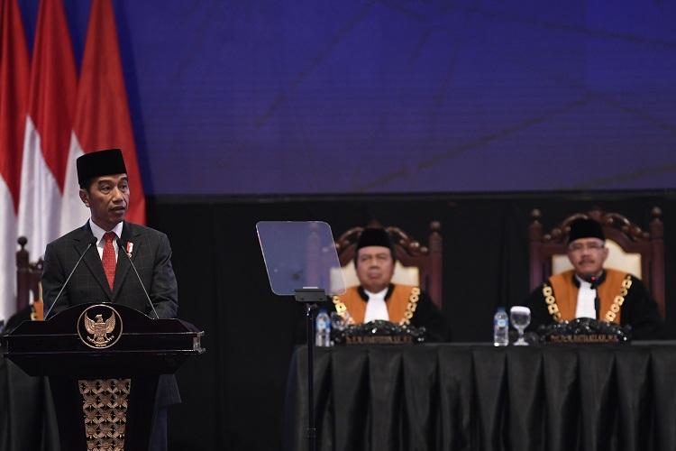 Presiden Dukung Terobosan MA untuk Kembalikan Kepercayaan