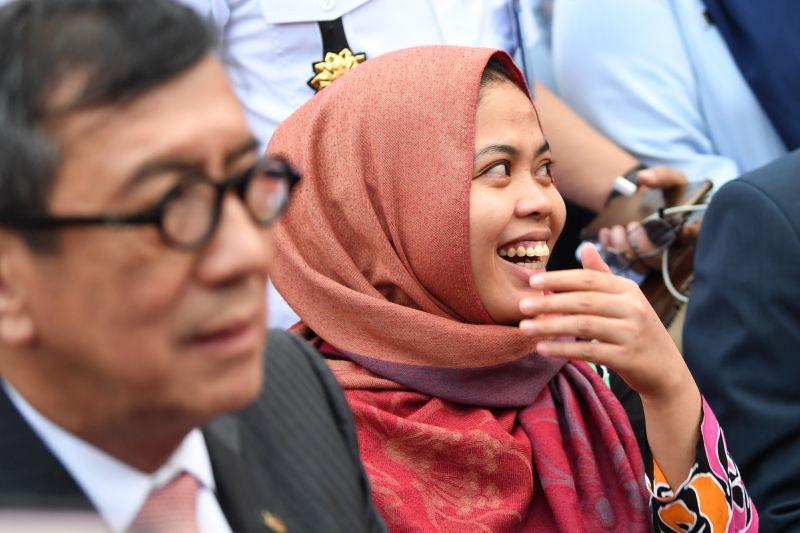 Siti Aisyah Sampaikan Terima Kasih kepada Presiden Jokowi