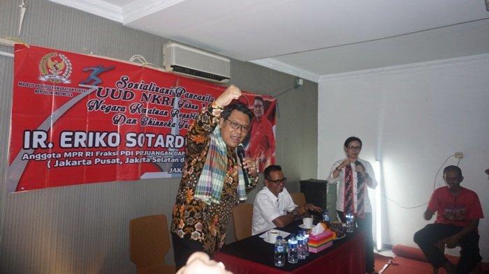 Jokowi Sambangi DPP PDI Perjuangan, Ini Imbauannya