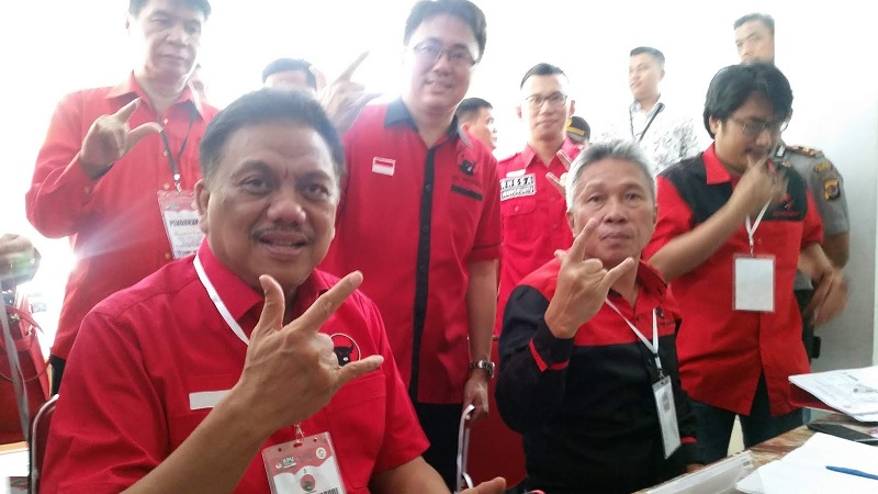 PDI Perjuangan Sulut Siap Bergerak Menangkan Hati Rakyat