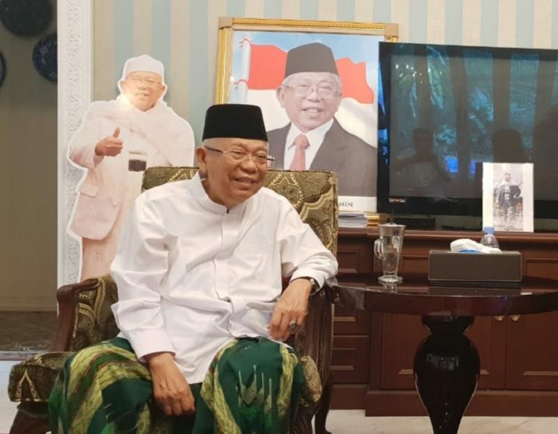 Kiai Ma'ruf Bahas Debat Bersama Dua Menteri Kabinet Kerja