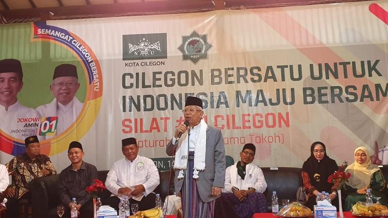 Kiai Ma'ruf Tetap Optimistis Raih Kemenangan di Banten
