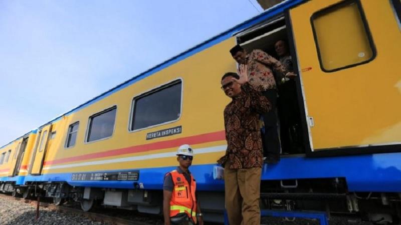 Rel Kereta Api ke Wilayah Selatan Sulsel Akan Dibangun