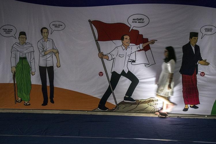 Survei SMRC : Jokowi-Ma'ruf Unggul Telak dari Prabowo-Sandi