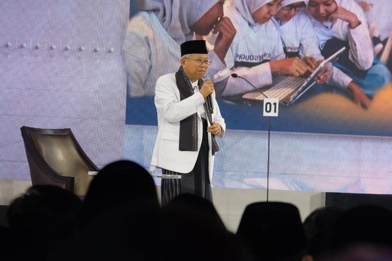 Penampilan Ma'ruf Amin Dipuji Koran Singapura