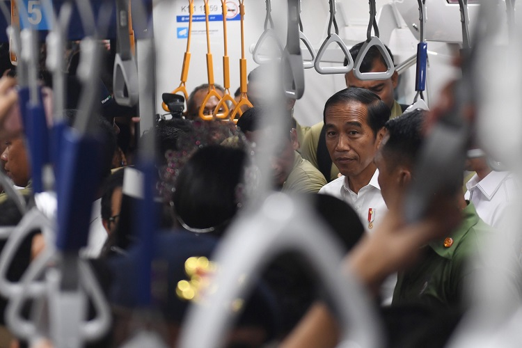 Jajal MRT, Presiden: Simbol Peradaban Baru Indonesia