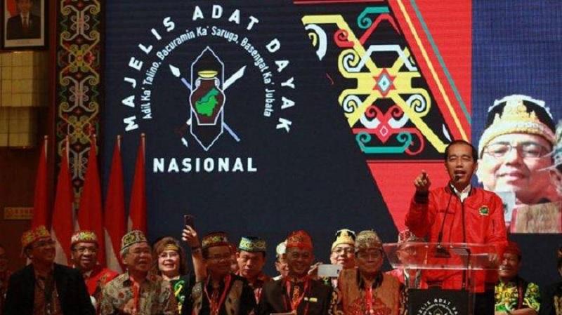 Jokowi-Ma'ruf Didukung Penuh Tokoh Dayak Kaltim
