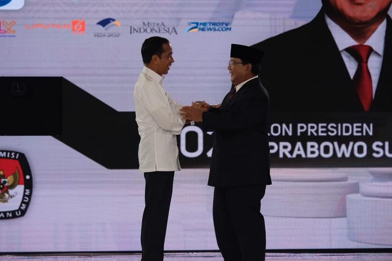 Jokowi ke Prabowo: Rantai Persahabatan Tak Akan Pernah Putus