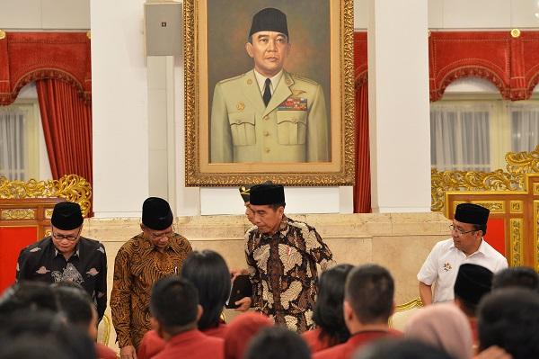Soal Ideologi, Jokowi Resapi Api Perjuangan Bung Karno