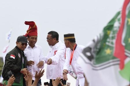 Jokowi Tegaskan Tidak Pandang Bulu Berantas Korupsi