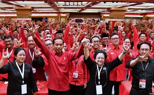 Bangkit Bergerak Menangkan PDI Perjuangan & Jokowi