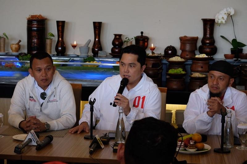 Suara Jokowi-Ma'ruf Amin Bergerak Positif di Sumatra
