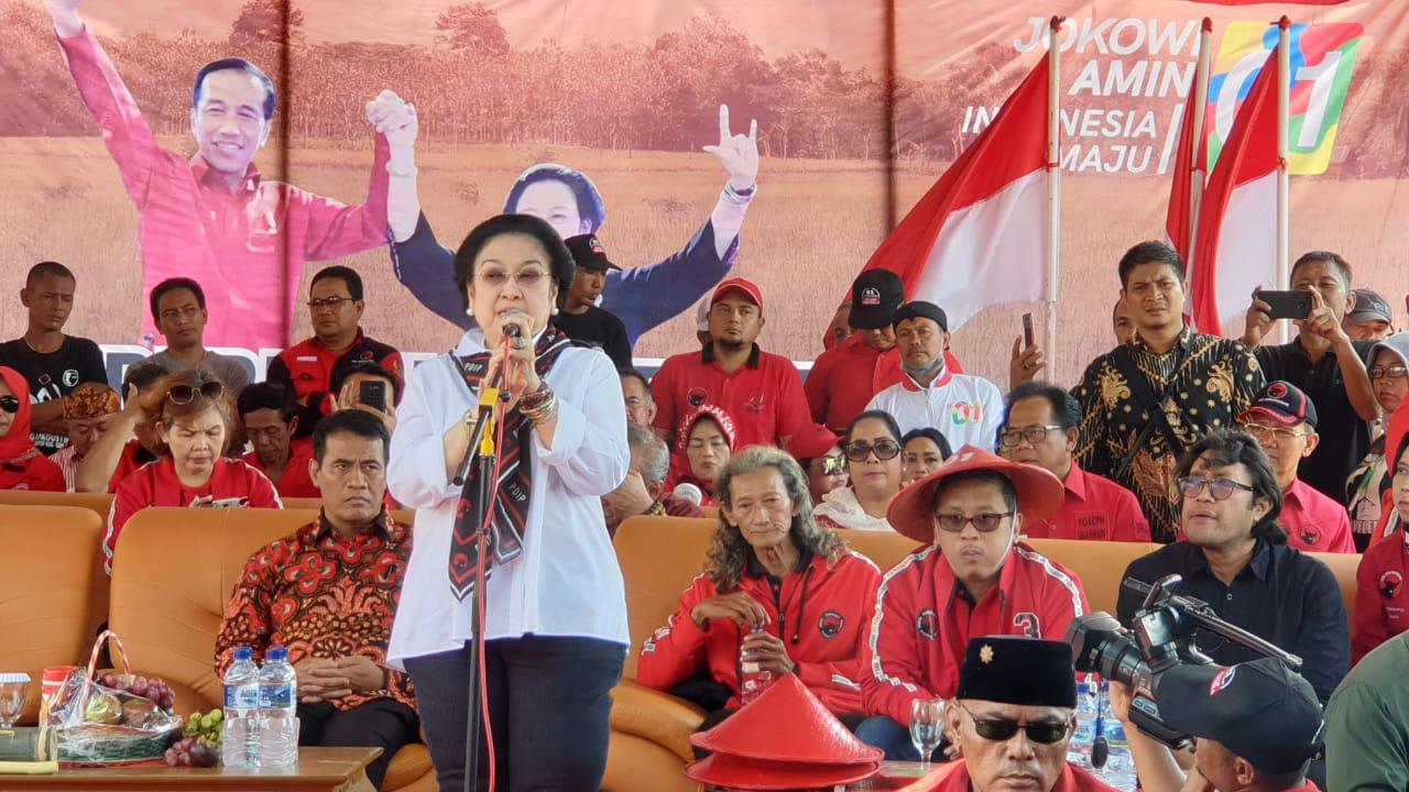 Megawati Tantang Anak Muda Jangan Malu Jadi Petani