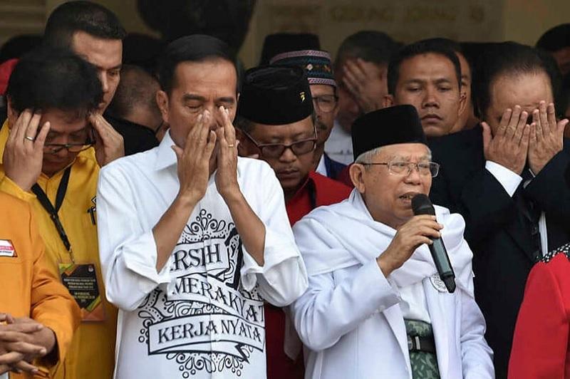 Wouw, Survei Buktikan FPI Dukung Jokowi-Amin Hingga 47.6%