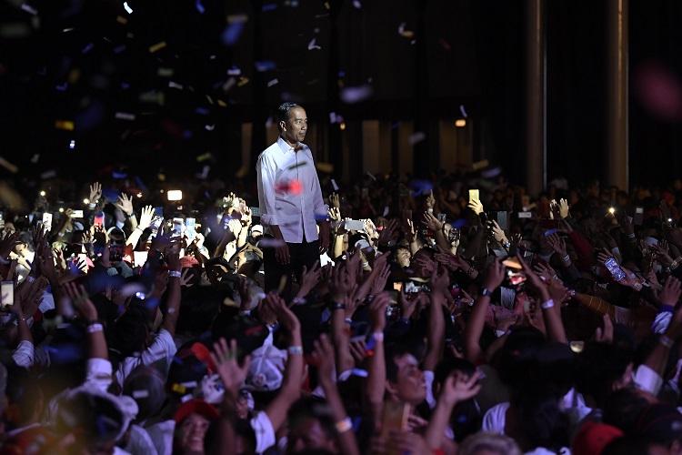 Jokowi Sepakat Kampanye Harus Tonjolkan Kebinekaan
