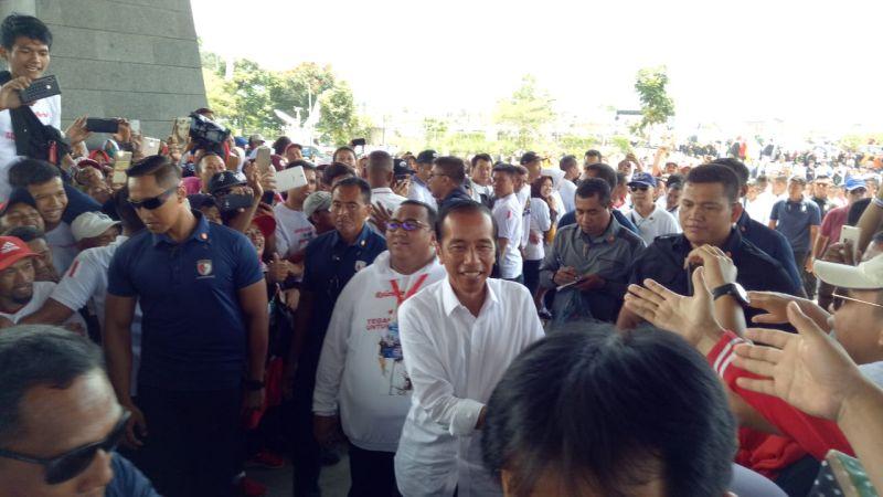 Ini Janji Jokowi kepada Para Buruh