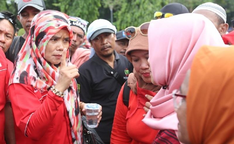 Honorer K2 Deklarasikan Tiga Poin Dukung Jokowi