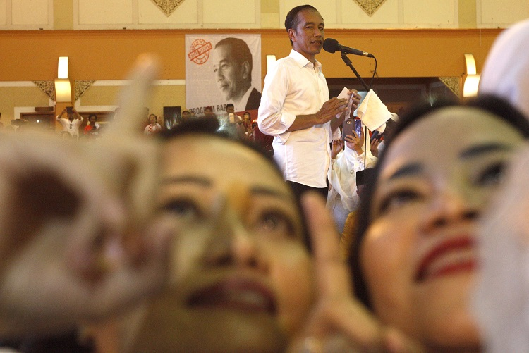 Surat Suara Tercoblos di Malaysia, Jokowi: Laporkan