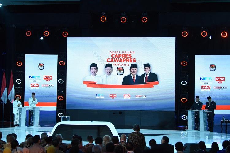 Usai Kampanye Akbar, Jokowi-Ma'ruf Optimis Ikuti Debat