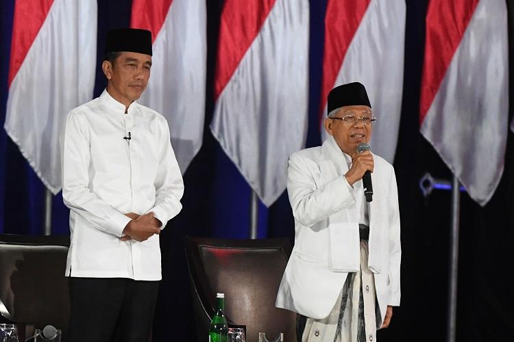 Jokowi-Kiai Ma'ruf Totalitas dan Membumi Saat Debat