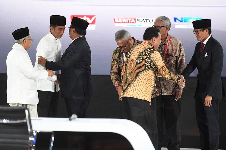 Ara Usulkan Jokowi dan Prabowo Ngopi Bareng Usai Pilpres