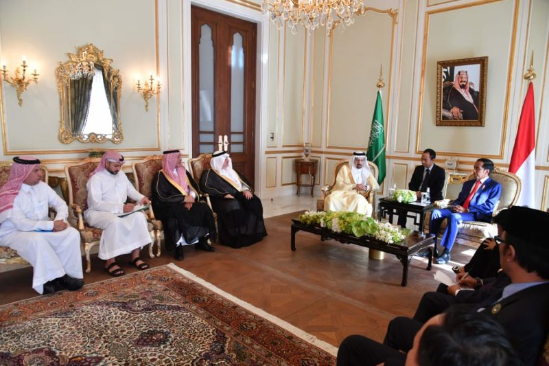 Presiden Ajak Saudi Kerja Sama dalam Syiar Islam Toleran