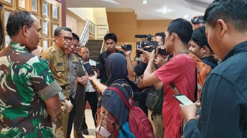 Gubernur Nurdin: Logistik Pemilu 99,5 Persen Tersalurkan