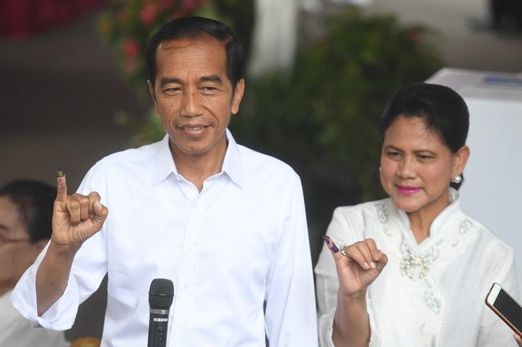 Jokowi Merasa 'Plong' Usai Mencoblos