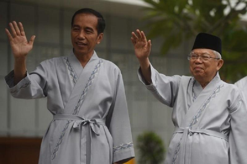 Jokowi-Ma'ruf Unggul di TPS 11 Sonokwijenan Surabaya