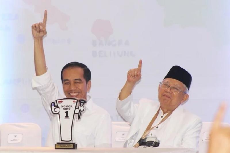 Jokowi-Ma'ruf Menang di Markas FPI dan TPS Rizieq Shihab