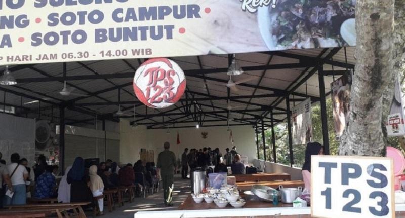 Di TPS Amien Rais, Jokowi-Ma'ruf Juara